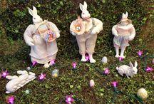 Easter Lighting / Lighting decor and displays for the Easter season.