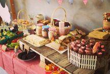 Callum's third birthday - Farm party