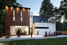 Huis designs / Vormgeving huizen