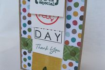 Waterfall Card / by me for DT L'AtelierScrap,