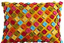 Pillow art / by Stephanie LaRobadiere