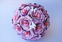 Centrotavola tema rose