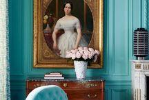 decoration: turquoise