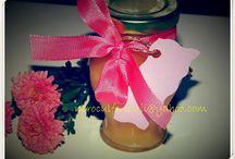 marturii cu miere pentru nunta si botez / wedding & christening honey favours