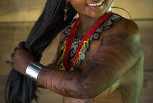 Emberá Tribe / The Emberá people also known in the historical literature as the Chocó or Katío Indians are an indigenous people of Panama and Colombia.
