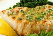 Seafood / Shrimp, lobster, crab, fish