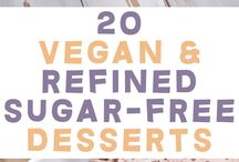 Vegan and Sugar free Desserts
