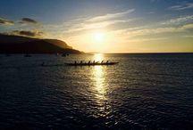 Va'a canoagem havaiana