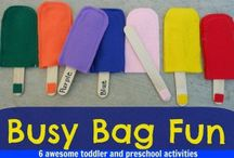 Busy bags/quiet time