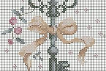 Casa maison home / Punto croce schemi point de croix