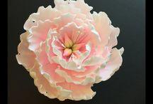 flores de gome paste