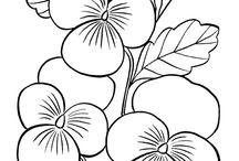 σχεδιο λουλουδια
