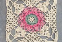 Crochet Granny Squares & Edging