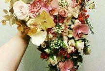 Brudebuketter - Efterår/Brændte farver