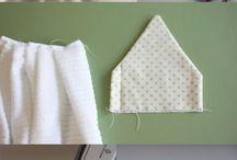 Handdoeken / Handdoeken ophanging
