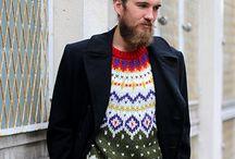 Men's Knits / Van truien tot sjaals. It's inspiration time!