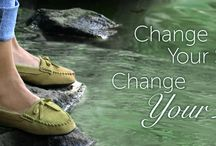 Change Your Life / Change your shoes, change your life.  Changing your life from the ground-up.