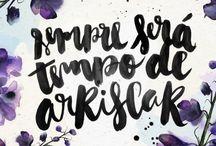 Frases Em Aquarela