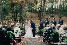 ślub w drewnie