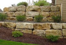 rock garden walls