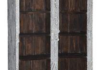 Estanterías únicas / Catálogo de estanterías de Conely. De todos los estilos arabes , rústicas, decadentes...
