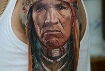 Krieger-Tattoos