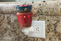 Plug-in Warmers / Plug-in Fragrance Warmers are perfect for smaller spaces, and ideal for kitchens and bathrooms. / by Candle Warmers Etc.