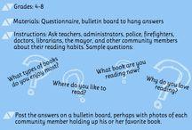 Literacy Activities: Late Elementary / Infographics. Free or inexpensive late elementary literacy activities.
