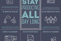 Je suis productive / Astuces et solutions pour rester productive, améliorer sa productivité, rester concentrer, gérer son temps, gérer ses tâches