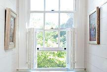 Kitchen ideas / Window bench