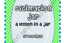 Kindergarten Math: Estimation / This board includes ideas, activities, and resources for teaching kindergarten math with a focus on estimation.