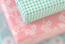 gift wrap heaven / Gorgeous wrapping paper and bows.