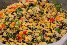 Salads for PTA fairs / Some yummy salads and sides to accompany your one-pots and BBQs for PTA and PTO events. Share the recipe on your PTAsocial volunteer community, get donations coming in to order!