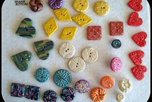 Polymer Clay Buttons / Buttons I made from polymer clay.  And, ones that I like. / by Bonnie Kreger
