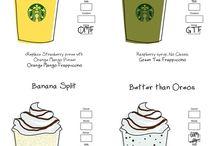 just Starbucks stuff
