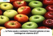 Poma / Manzana / Aquí trobaràs curiositats sobre la poma  / Aquí encontrarás curiosidades sobre la manzana