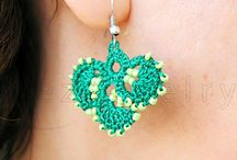 crochet earrings pattern