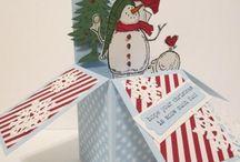 carte dans la boite, card in the box / Card in thé box,
