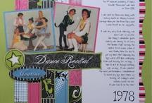 Dance Scrapbooking / Scrapbooking Dance layouts & products