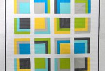 Log cabins, boxes / by Sarah Duffey Quilts