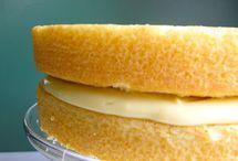 Hot milk sponge