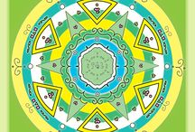 Mandalas of Lucia Aurora / My digital mandalas art.