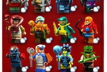 LEGO Movie Television Cartoon / Find different LEGO creations based on popular movies, television series and cartoons.
