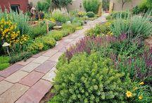 Santa Fe Garden Style / Gardens for dry climates