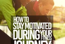 Stay motivated with your fitness routine.