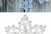 Crochet Ecstacy - Snowflakes