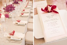 WEDDING: Place settings / by Misu Life