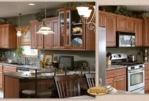 Dignity and Warmth - Showplace Cabinets / Covington Door Style