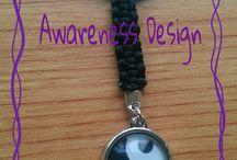 Awareness Design / Themenschmuck & Accessoires - handmade überwiegend Bekenntnisschmuck zum Thema Autismus