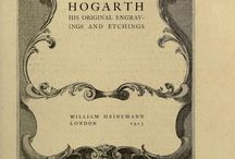 Hogarth / Painting and etchings by William Hogarth